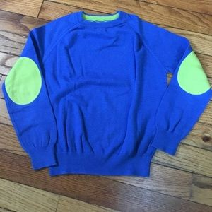 Cute Mini Boden elbow patch sweater